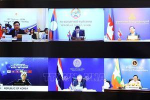 Các nước tiểu vùng sông Mekong và Hàn Quốc cam kết hợp tác khôi phục thương mại toàn cầu