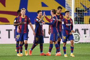 Barca khởi đầu kỷ nguyên 'không Messi' đầy hứa hẹn