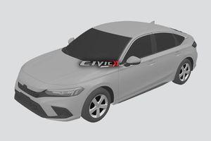 Lộ ảnh phác thảo của Honda Civic 2022