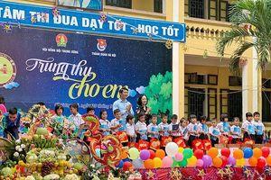 Mang Tết Trung thu đến với thiếu nhi xã Phú Nghĩa, huyện Chương Mỹ