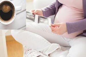 Phụ nữ mang thai tránh lạm dụng uống cà phê khử caffeine vì dễ gây sảy thai