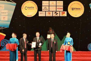 Sonadezi nhận giải thưởng Top 50 Nhãn hiệu nổi tiếng Việt Nam năm 2020