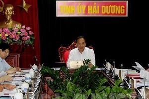 Hải Dương nhất trí chủ trương thành lập cụm công nghiệp Bình Minh - Tân Hồng