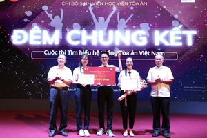 Chung kết cuộc thi 'Tìm hiểu hệ thống Tòa án Việt Nam' năm 2020