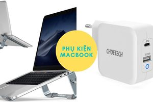 Củ sạc GaN 65W và chân đế nhôm đặc biệt cho MacBook
