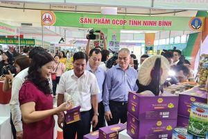 Sản phẩm OCOP Ninh Bình đến với người tiêu dùng Thủ đô