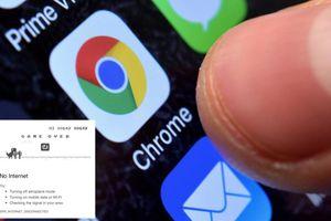 Sự thật ít người biết về chú khủng long xuất hiện trong Google Chrome mỗi khi đứt mạng