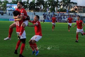 V.League 2020: Hồng Lĩnh Hà Tĩnh trụ hạng thành công khi đánh bại Quảng Nam trên sân nhà