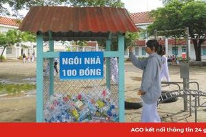 'Ngôi nhà 100 đồng' bảo vệ môi trường