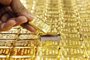 Giá vàng trong nước tăng hơn 100.000 đồng/lượng
