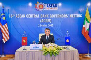 Thống đốc Lê Minh Hưng chủ trì Hội nghị trực tuyến Thống đốc Ngân hàng ASEAN lần thứ 16