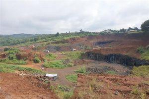Đắk Nông: 3 doanh nghiệp khai thác khoáng sản bị phạt 320 triệu đồng