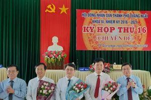 Ông Hà Hoàng Việt Phương giữ chức Chủ tịch TP Quảng Ngãi