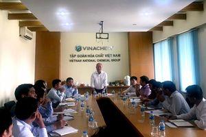 Đảng bộ Tập đoàn Hóa chất Việt Nam làm việc với các Đảng bộ trực thuộc phía Nam