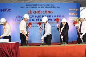 HFIC khởi công công trình xây dựng Tòa nhà Văn phòng và Cao ốc tại 'Phố Wall Sài Gòn'