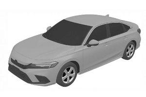 Honda Civic thế hệ tiếp theo rò rỉ hình ảnh thiết kế cả nội ngoại thất