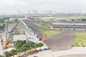 Tiếp tục tháo dỡ các hạng mục của đường đua F1 Hà Nội