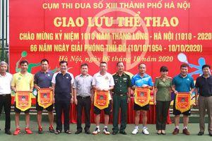 Giao lưu thể thao Cụm thi đua số 13 thành phố Hà Nội