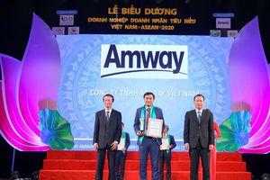 Amway Việt Nam nhận giải thưởng Doanh nghiệp tiêu biểu Việt Nam - ASEAN 2020