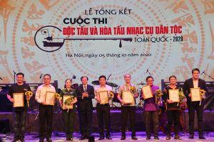 Cuộc thi Độc tấu và Hòa tấu nhạc cụ dân tộc toàn quốc: Phô diễn tinh hoa âm nhạc dân tộc