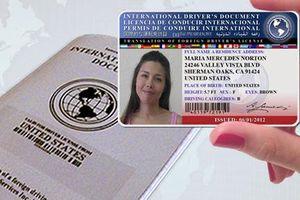 Bằng lái xe nước ngoài phải được hợp pháp hóa lãnh sự
