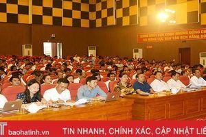 Thị xã Hồng Lĩnh quán triệt Nghị quyết Đại hội Đảng cho gần 450 cán bộ cốt cán