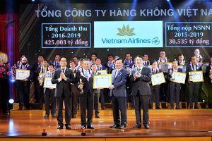 Vietnam Airlines được vinh danh doanh nghiệp nộp thuế tiêu biểu