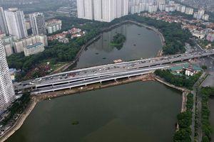 Hà Nội: Phân luồng sau thông xe cầu vượt hồ Linh Đàm