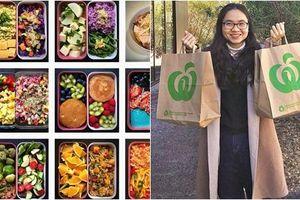 Du học tại Úc, 9X vẫn vào bếp nấu cơm chay bổ dưỡng, ý nghĩa đằng sau mới đáng khâm phục