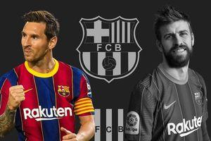 Barcelona nổi sóng vì rạn nứt giữa Messi và Pique