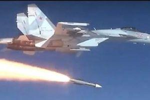 Nga lần đầu tiết lộ hình ảnh bắn thử tên lửa siêu thanh R-37M từ Su-35