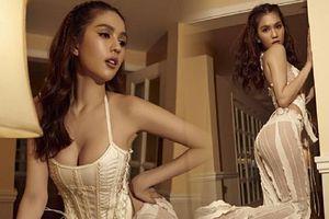 Ngọc Trinh tự tin diện quần mỏng tang để lộ nội y chụp ảnh