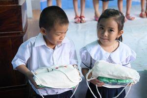 BASF và đối tác chung tay cải tạo trường học tại tỉnh Hậu Giang