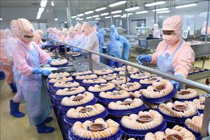 Tôm Việt vững thị phần tại Anh