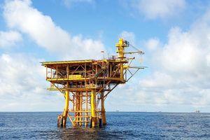 Giàn BK21, mỏ Bạch Hổ chính thức đón dòng dầu đầu tiên