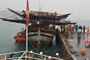 Cứu nạn 39 thuyền viên gặp sự cố trên vùng biển quần đảo Trường Sa