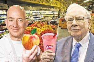 Buffett để thương vụ bạc tỷ rơi vào tay Bezos