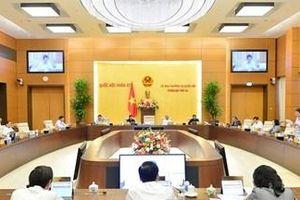Công bố 5 nghị quyết của Ủy ban Thường vụ Quốc hội