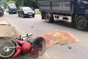 Hòa Bình: Một phụ nữ tử vong vong khi nhập đường quốc lộ