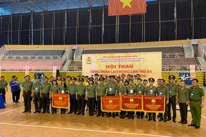 Công đoàn Công an TPHCM đạt giải nhất toàn đoàn