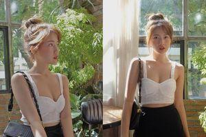 Gu thời trang nóng bỏng của hot girl đóng vai bạn gái Đan Trường