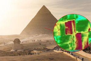 Phát hiện dị thường về nhiệt trong Kim tự tháp Kheops