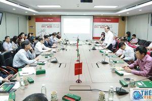 Đoàn Trưởng Cơ quan đại diện Việt Nam ở nước ngoài làm việc tại Tổng công ty Hapro
