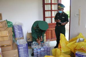 Thu giữ 1.500 gói thuốc lá nhập lậu