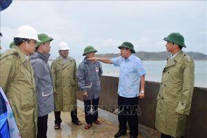 Đoàn công tác Ban Chỉ đạo Trung ương về phòng, chống thiên tai làm việc tại Bình Định