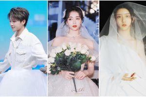 Các thành viên The9 diện váy cưới: Hứa Giai Kỳ đẹp xuất sắc, Dụ Ngôn lạ mắt