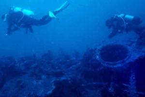 Phát hiện xác tàu ngầm 'gần như nguyên vẹn' của Pháp ở Tunisia