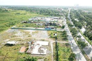Cưỡng chế công trình không phép, chiếm đất tại dự án KCN 'treo' 18 năm