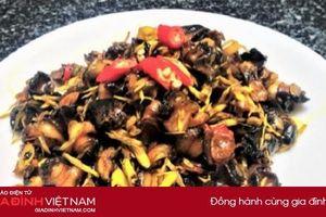 Cách làm món ốc bươu xào sả ớt giòn sật lai rai ngày cuối tuần