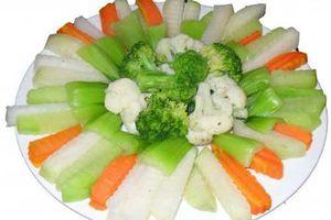 Su hào - siêu thực phẩm cho sức khỏe vàng